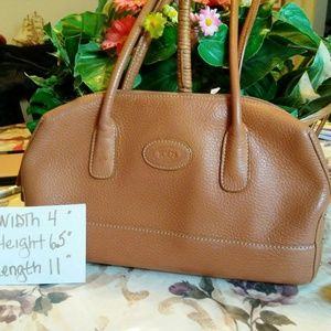 TODS MADE IN ITALY LEATHER PURSE